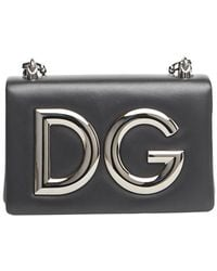8248f04c021a Dolce   Gabbana - Dg Shoulder Bag - Lyst