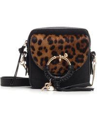 123bdd9306 See By Chloé Mini Joan Cross-body Bag in Gray - Save 2% - Lyst