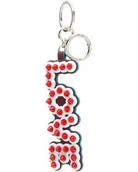 Fendi - Studded Love Key Chain - Lyst