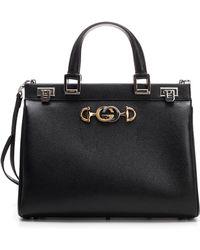1866a8878d3 Gucci Gg Running Medium Hobo Bag in Black - Lyst