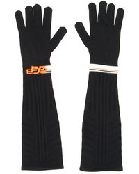 Prada - Techno Stripe Gloves - Lyst