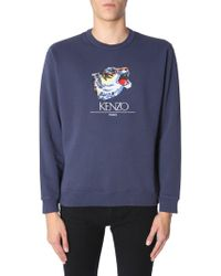 KENZO - Tiger Head Sweatshirt - Lyst