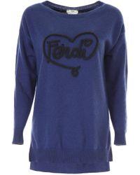 Fendi - Open Your Heart Sweater - Lyst