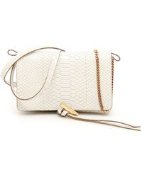 e48161eb64 Lyst - Chanel Matrasse One One Shoulder Bag Caviar Skin Ivory Gold ...