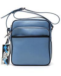 Prada - Leather Messenger Bag - Lyst