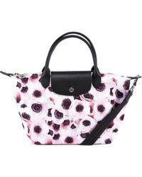 Longchamp - Poppy Print Small Le Pliage Handbag - Lyst
