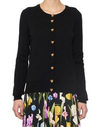 Dolce & Gabbana - Leopard Buttonned Cardigan - Lyst