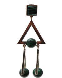 Tory Burch - Studded Stone Earrings - Lyst