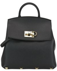 Ferragamo - Studio Backpack - Lyst