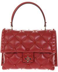 Valentino - Garavani Candystud Top Handle Bag - Lyst