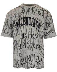 b60f2bbb Men's Balenciaga T-shirts Online Sale - Lyst