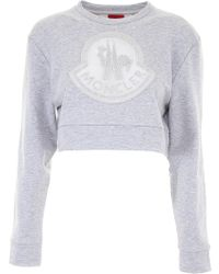 Moncler Gamme Rouge - Cropped Sweater - Lyst