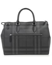 Burberry - House Check Tote Bag - Lyst