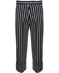 Thom Browne - Chenille Banker Straight Leg Trousers - Lyst