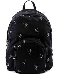 Alexander McQueen - Dancing Skeleton Print Backpack - Lyst