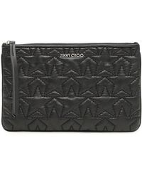 Jimmy Choo - Star Embossed Pouch - Lyst
