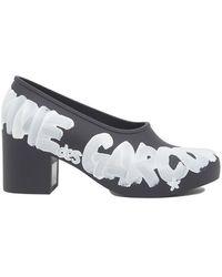 Comme des Garçons - Logo Court Shoes - Lyst