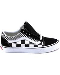 Vans - Old School Check Trainers - Lyst