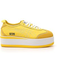 Gcds - Yellow Pf-d Mexico 66 Trainers - Lyst