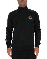 a3277ad501ffd Marcelo Burlon Kappa Tape Track Jacket in Black for Men - Lyst