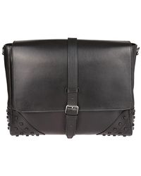 Tod's - Rectangular-shaped Messenger Bag - Lyst