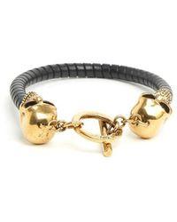Alexander McQueen - Skull Bracelet - Lyst