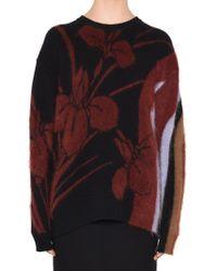 N°21 - Floral Print Sweater - Lyst