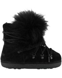 DSquared² - Fur Snow Boots - Lyst