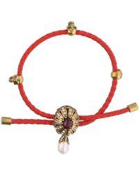 Alexander McQueen - Jewel Charm Bracelet - Lyst