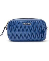 Miu Miu - Matelassé Belt Bag - Lyst
