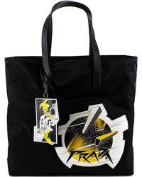 Prada - Comic Print Shopper Tote - Lyst