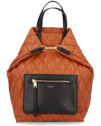 Givenchy - Duo Quilted Front Zip Backpack - Lyst
