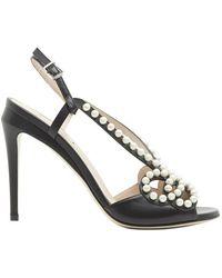 Fendi - Embellished Sandals - Lyst