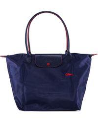 Longchamp - Le Pliage Club Large Shoulder Bag - Lyst