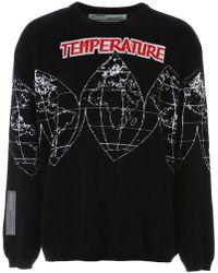 Off-White c/o Virgil Abloh - Temperature World Jumper - Lyst