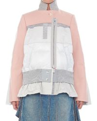 Sacai - Contrast Style Jacket - Lyst