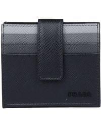 Prada - Embossed Logo Multi-cardholder - Lyst