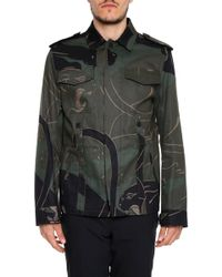 Valentino - Panther Print Army Jacket - Lyst