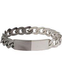 Maison Margiela - Two-tone Chain Bracelet - Lyst