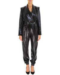 Philosophy Di Lorenzo Serafini - V Neck Double Breasted Jumpsuit - Lyst