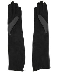 Lanvin - Long Silk Gloves - Lyst
