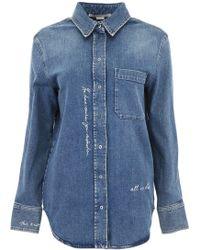 Stella McCartney - Denim Shirt - Lyst