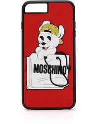 Moschino - Shopping Puppy Iphone 6 Plus Phone Case - Lyst