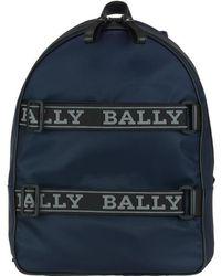 Bally - Logo Strap Backpack - Lyst
