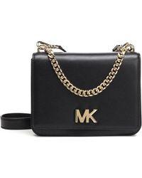1005b1c95229fb MICHAEL Michael Kors Medium Mott Crossbody Bag in Black - Lyst