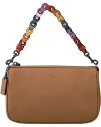 COACH - Nolita Colored Strap Shoulder Bag - Lyst