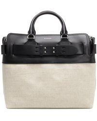 Burberry - Medium Top Handle Bag - Lyst