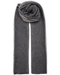 Woolrich - Striped Cashmere Scarf - Lyst