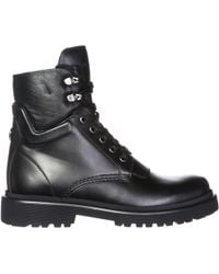 Moncler - Patty Lace-up Boots - Lyst