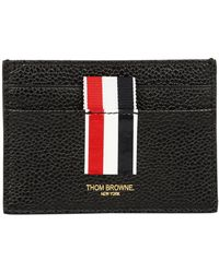 Thom Browne - Intarsia Stripe Cardholder - Lyst